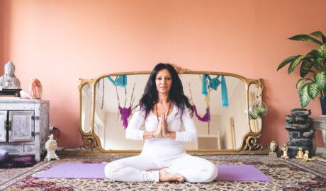Angela Carmina Amrita Yoga Bija Casalpalocco
