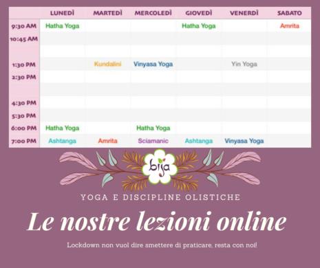 Lezioni yoga online Casalpalocco Roma