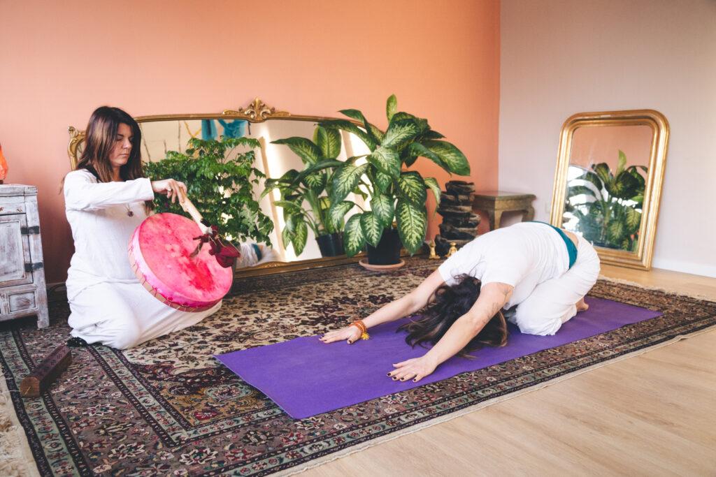 Yoga sciamanico con Mila ROssi Bija Casalpalocco