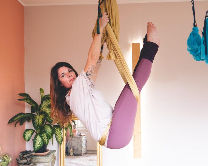 Mila Rossi Yoga Fly Bija Casalpalocco